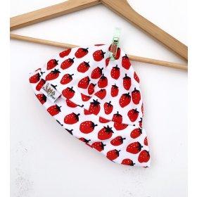 Sommermütze Erdbeeren