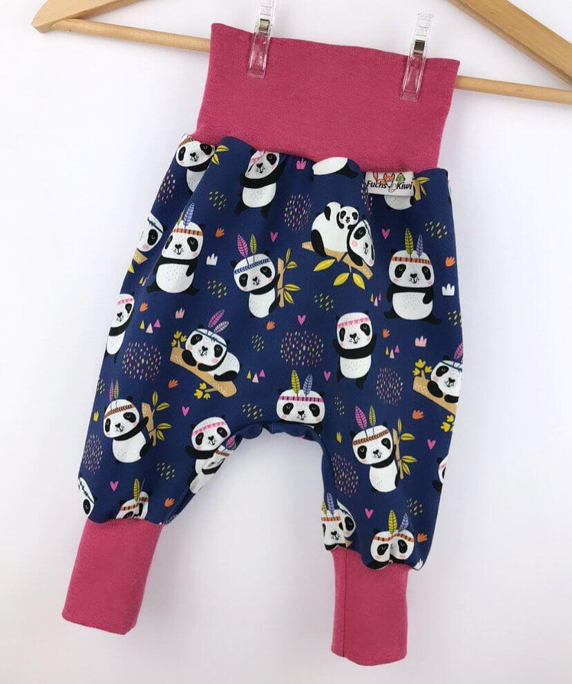 Pumphose Panda dunkelblau