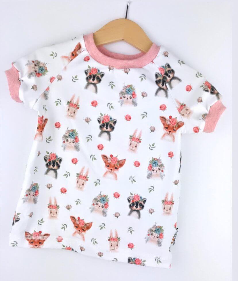 T-Shirt Blumentiere