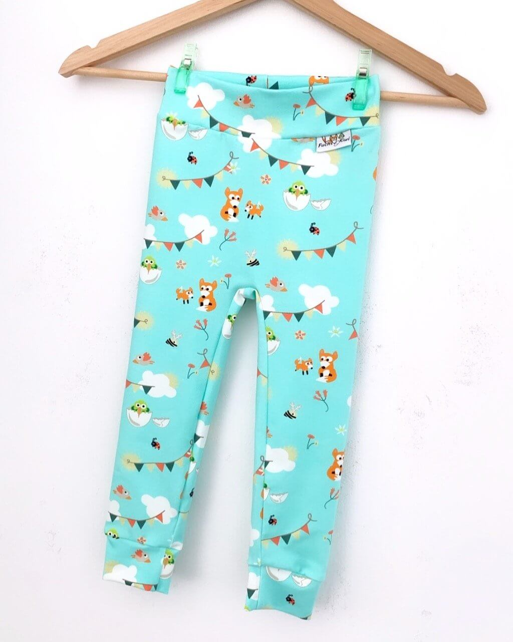 Leggings Fuchs & Kiwi mint