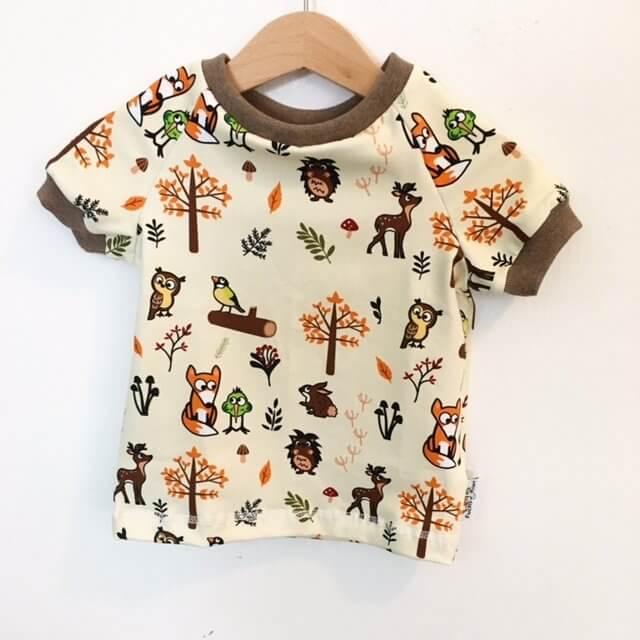 T-Shirt Fuchs & Kiwi