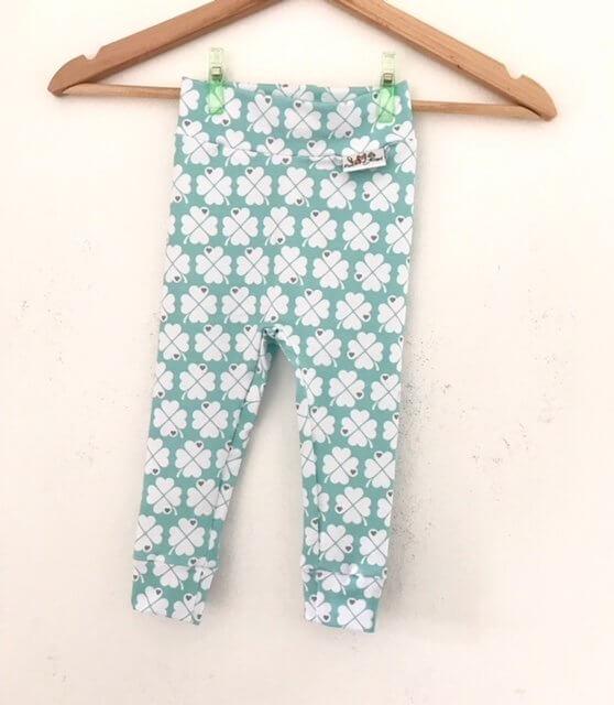 Leggings Kleeblätter mint