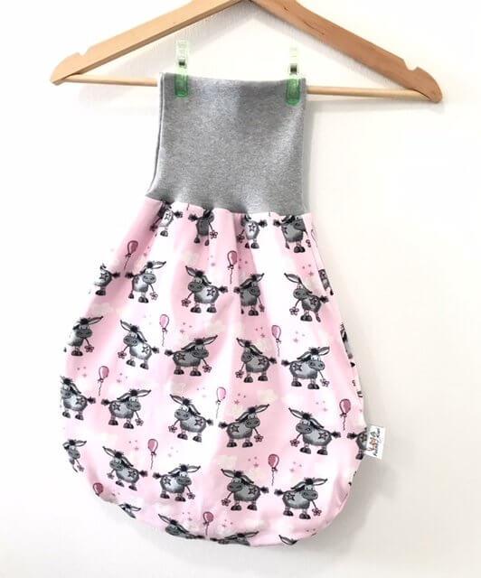 Pucksack Esel rosa