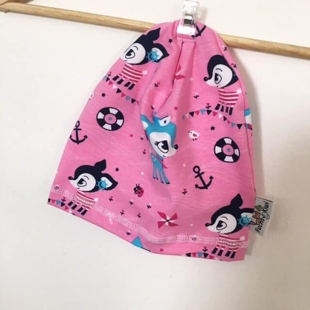 Beanie Reh pink