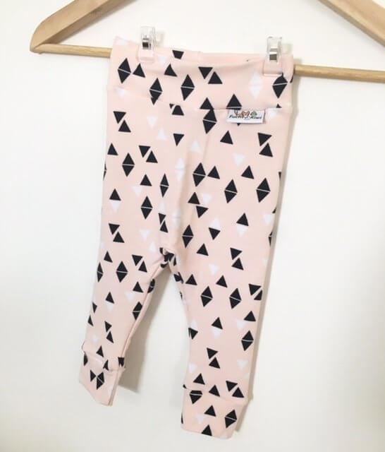 Leggings Triangles rosa