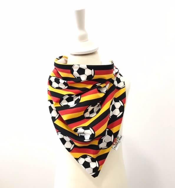 Halstuch zum Binden Fussball