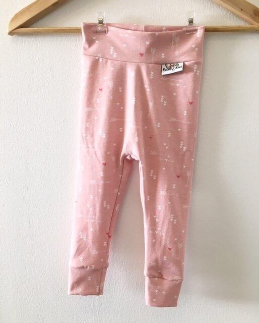 Leggings mit Pfeile rosa