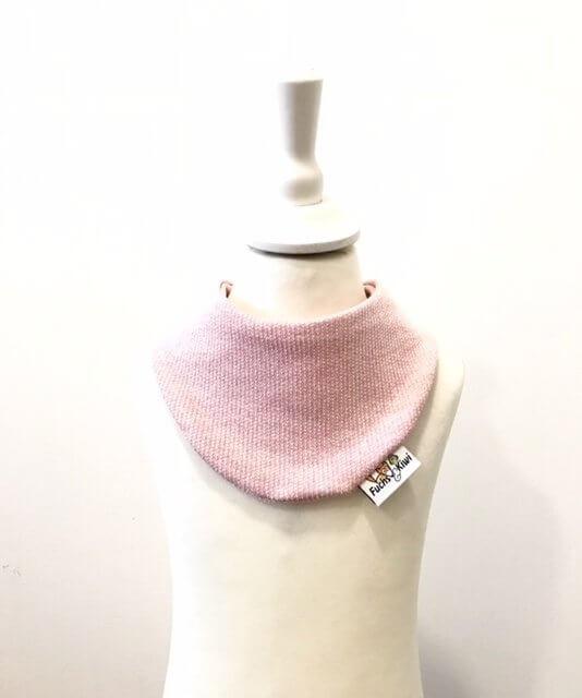 Halstuch Strick rosa