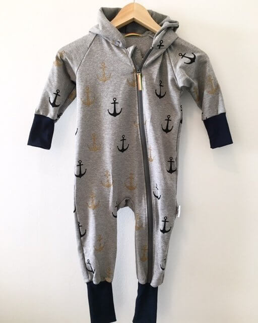 Sweatoverall mit Anker Gold