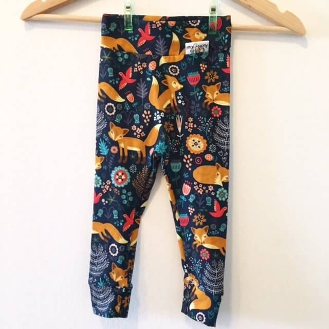 Leggings Fuchs & Blumen