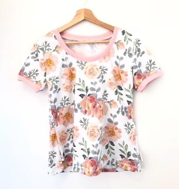 T-Shirt für Mama Rosenzauber
