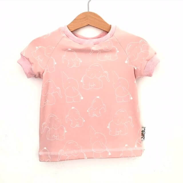 T-Shirt Elefanten rosa