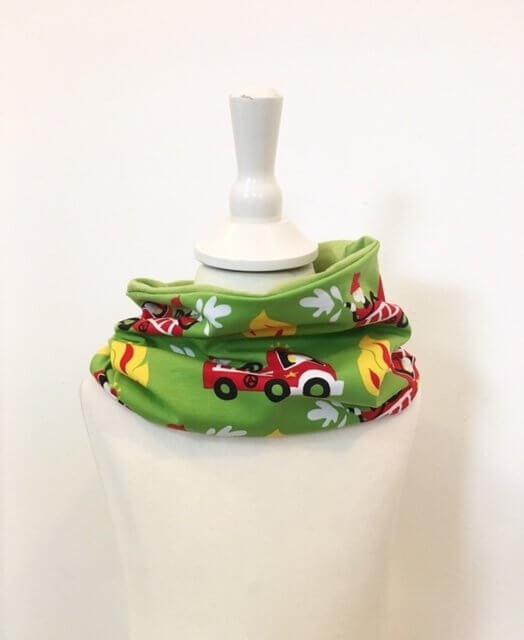 Loop mit Feuerwehr grün