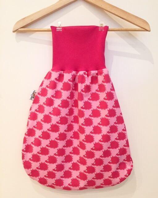 Pucksack mit Igel pink