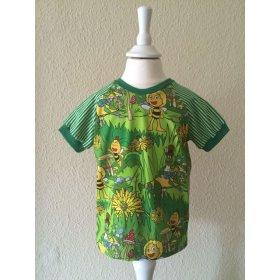T-Shirt Biene Maya in grün