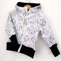 Softshelljacke Elefanten