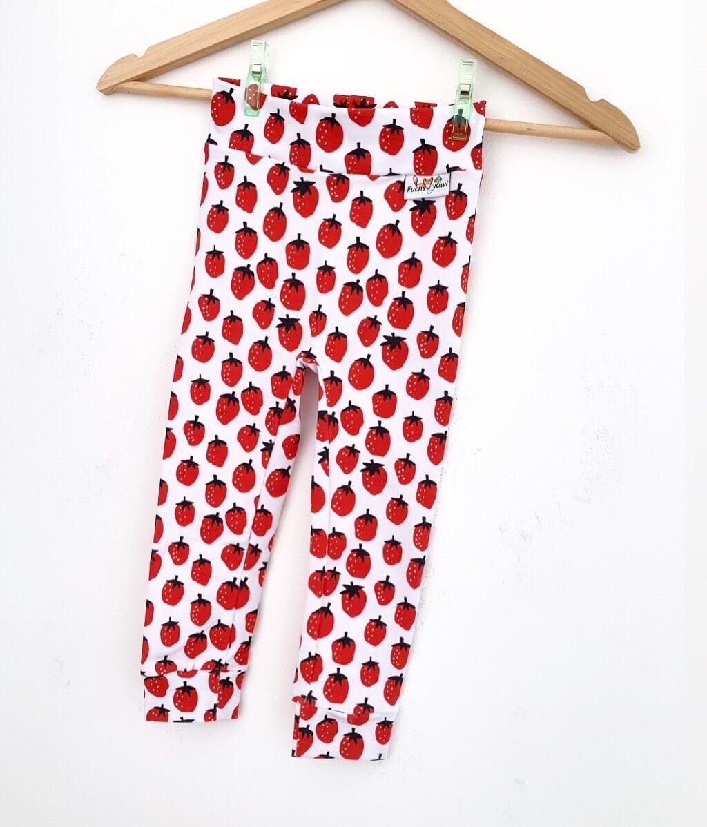 Leggings Erdbeeren