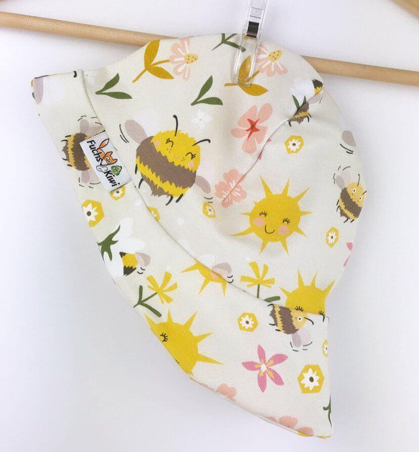 Sommermütze Bienchenwiese