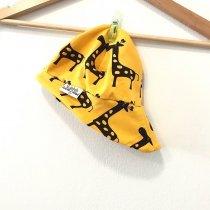 Sommermütze Giraffen gelb 38-40