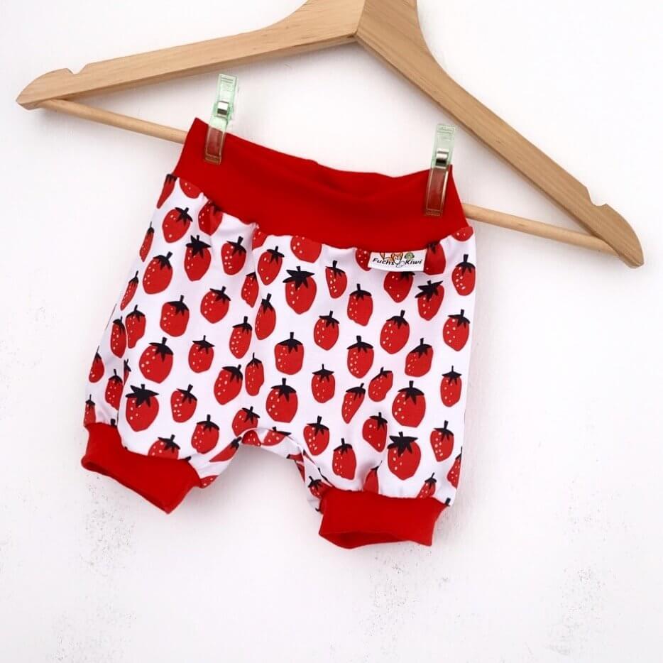kurze Hose Erdbeeren