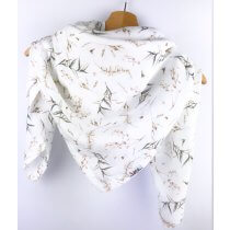 Tuch für Mama Musselin Blätter