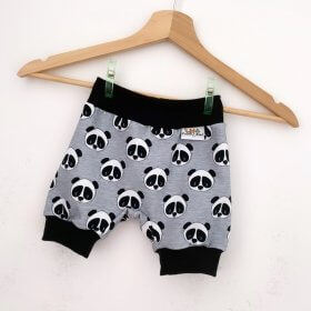 kurze Hose Panda meliert