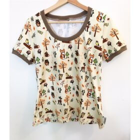 T-Shirt für Mama Fuchs & Kiwi