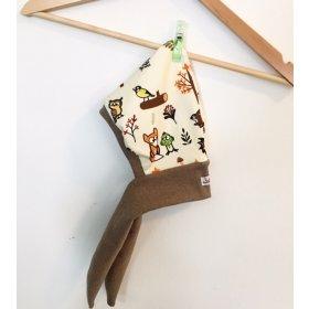 Zipfelmütze Fuchs & Kiwi