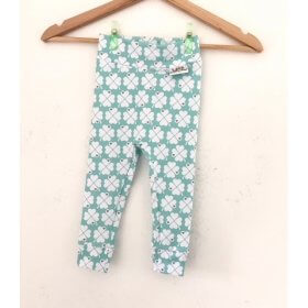 Leggings Kleeblätter mint
