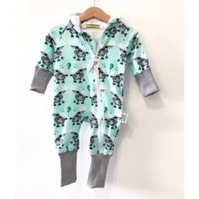 Sweatoverall Esel mint