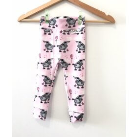Leggings Esel rosa