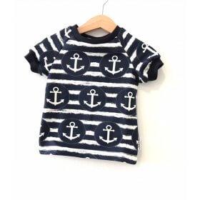 T-Shirt mit Anker & Kreis