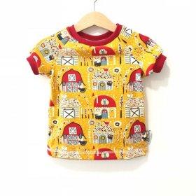 T-Shirt Häuser gelb