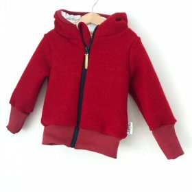Walkjacke in Rot