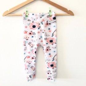 Leggings mit Vögelchen rosa
