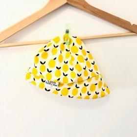 Sommermütze mit Zitronen
