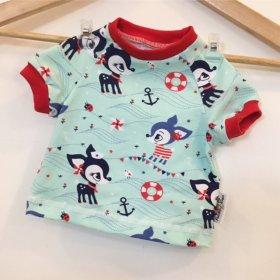 T-Shirt Reh mint