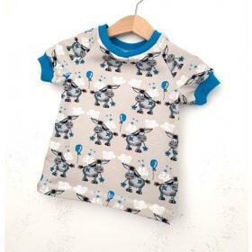 T-Shirt Esel grau