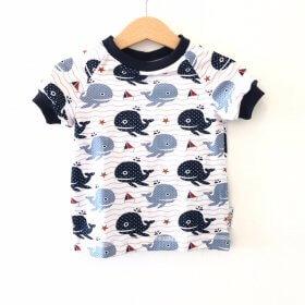T-Shirt Wal & Schiffchen