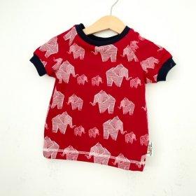 T-Shirt Elefanten rot