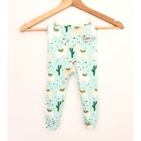 Leggings Lama mint