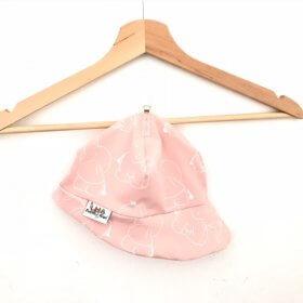 Sommermütze Elefanten rosa