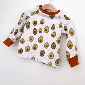 Langarmshirt Avocados