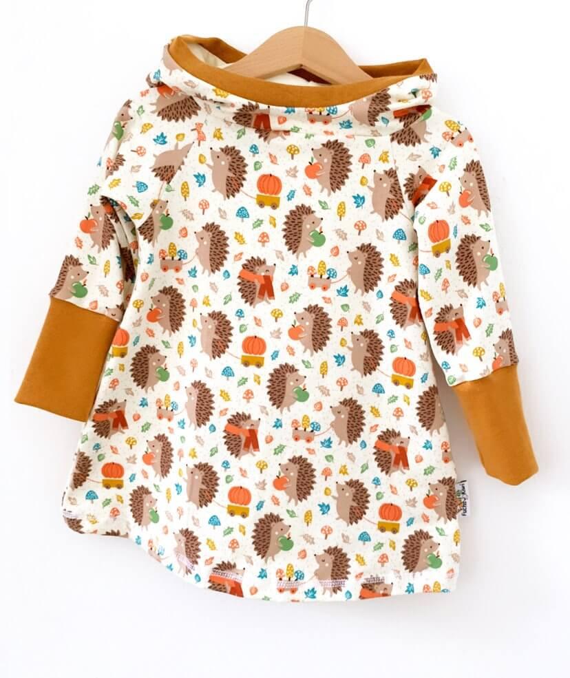 Hoodiekleid Herbstigel