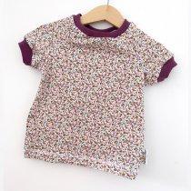 T-Shirt Blümchen Flieder