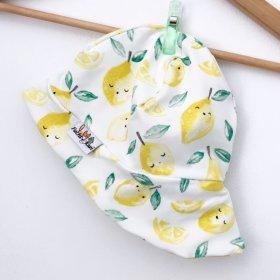 Sommermütze Zitronen