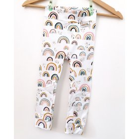 Leggings Regenbogen rosa