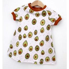 Kurzarmkleid Avocados