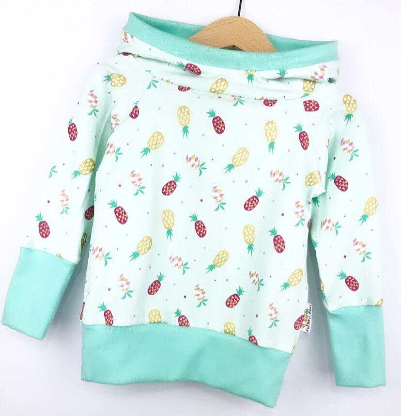 Hoodie Ananas mint