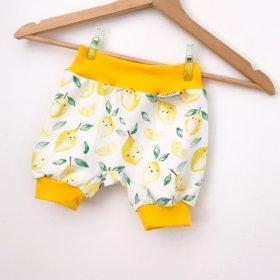 Kurze Hose Zitronen